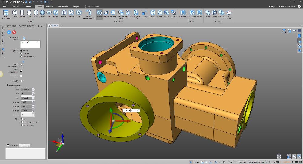 1e553f1bf01 Designer – Vero's New Direct Modelling CAD System