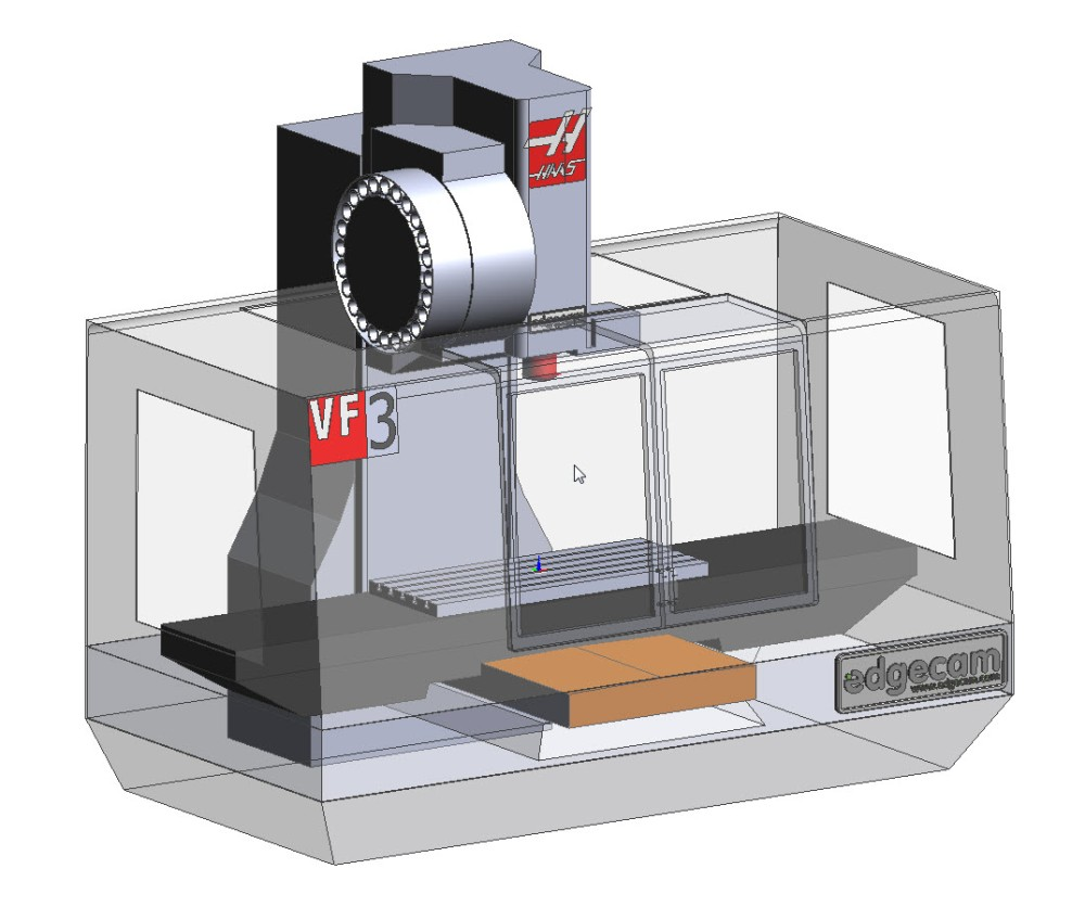 EDGECAM Creates Post Processors For Haas VF Series 3-Axis