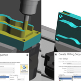 Workflow Multiple Sequence Support Milling